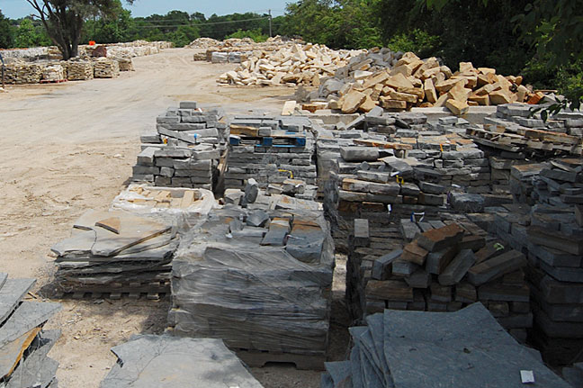 builders stone and flagstone